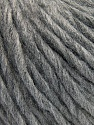 Fiber Content 70% Acrylic, 30% Wool, Brand ICE, Grey Melange, Yarn Thickness 4 Medium  Worsted, Afghan, Aran, fnt2-57209