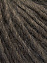 Fiber Content 50% Merino Wool, 25% Alpaca, 25% Acrylic, Brand ICE, Dark Brown, Brown Melange, Yarn Thickness 4 Medium  Worsted, Afghan, Aran, fnt2-57210