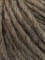 Fiber Content 50% Merino Wool, 25% Acrylic, 25% Alpaca, Brand ICE, Brown Melange, Yarn Thickness 5 Bulky  Chunky, Craft, Rug, fnt2-57211
