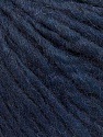 Fiber Content 50% Merino Wool, 25% Alpaca, 25% Acrylic, Navy, Brand ICE, Yarn Thickness 4 Medium  Worsted, Afghan, Aran, fnt2-57222