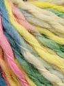 Fiber Content 100% Wool, Yellow, White, Pink, Brand ICE, Green, Blue, Yarn Thickness 5 Bulky  Chunky, Craft, Rug, fnt2-57234