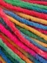 Fiber Content 60% Acrylic, 40% Wool, Yellow, Brand ICE, Green, Fuchsia, Blue, Yarn Thickness 5 Bulky  Chunky, Craft, Rug, fnt2-57250