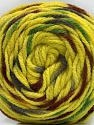 Fiber indhold 80% Akryl, 20% Polyamid, Yellow, Brand ICE, Grey, Green, Brown, fnt2-57343