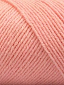Fiber Content 50% Wool, 50% Acrylic, Light Salmon, Brand ICE, fnt2-57346
