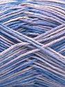 Contenido de fibra 100% Acrílico, Lilac Shades, Brand ICE, fnt2-57349