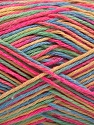 Fiber Content 100% Acrylic, Yellow, Pink, Brand ICE, Green, Blue, fnt2-57353
