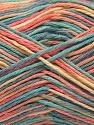 Fiber Content 100% Acrylic, Yellow, Salmon, Mint Green, Jeans Blue, Brand ICE, fnt2-57354