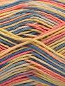 Contenido de fibra 100% Acrílico, Yellow, Salmon, Brand ICE, Blue, fnt2-57355