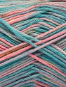 Fiberinnhold 100% Akryl, Turquoise, Pink, Lilac, Brand ICE, Blue, fnt2-57369