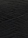Fasergehalt 80% Acryl, 20% Polyamid, Brand ICE, Black, fnt2-57371