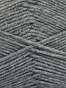Fiberinnhold 80% Akryl, 20% polyamid, Brand ICE, Grey, fnt2-57372