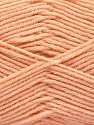 Fiber indhold 80% Akryl, 20% Polyamid, Light Orange, Brand ICE, fnt2-57381