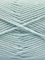Fiber indhold 80% Akryl, 20% Polyamid, Brand ICE, Baby Blue, fnt2-57382
