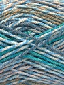 Fiberinnhold 100% Akryl, Turquoise, Brand ICE, Camel, Blue Shades, Beige, fnt2-57385