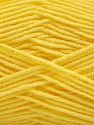 Fiber indhold 50% Bambus, 50% Akryl, Yellow, Brand ICE, fnt2-57393