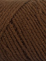 Items made with this yarn are machine washable & dryable. Fasergehalt 100% Acryl, Brand ICE, Coffee Brown, fnt2-57406