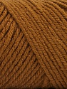 Items made with this yarn are machine washable & dryable. Fasergehalt 100% Acryl, Brand ICE, Caramel, fnt2-57408