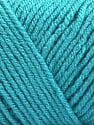 Items made with this yarn are machine washable & dryable. Fasergehalt 100% Acryl, Turquoise, Brand ICE, fnt2-57420