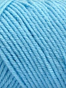 Items made with this yarn are machine washable & dryable. Fiberinnhold 100% Akryl, Light Blue, Brand ICE, fnt2-57423