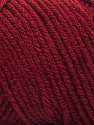 Items made with this yarn are machine washable & dryable. Fiberinnhold 100% Akryl, Brand ICE, Dark Burgundy, fnt2-57424