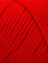 Items made with this yarn are machine washable & dryable. Fiberinnehåll 100% Akryl, Red, Brand ICE, fnt2-57425
