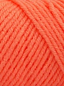 Items made with this yarn are machine washable & dryable. Fasergehalt 100% Acryl, Light Orange, Brand ICE, fnt2-57427