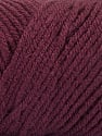 Items made with this yarn are machine washable & dryable. Fasergehalt 100% Acryl, Maroon, Brand ICE, fnt2-57430