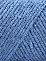 Items made with this yarn are machine washable & dryable. Composição 100% Acrílico, Indigo Blue, Brand ICE, fnt2-57440