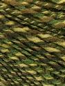Fasergehalt 50% Wolle, 50% Acryl, Brand ICE, Green Shades, fnt2-57447