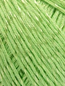 Fiber Content 70% Mercerised Cotton, 30% Viscose, Light Green, Brand KUKA, fnt2-57571
