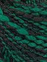 Fiberinnehåll 90% Akryl, 10% Polyamid, Brand ICE, Green, Black, fnt2-57600