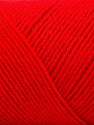 Fiber Content 50% Wool, 50% Acrylic, Red, Brand ICE, fnt2-57736