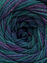 Fiber Content 100% Acrylic, Turquoise Shades, Purple Shades, Brand ICE, fnt2-57845