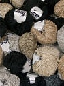 Amigurumi Chenille Please note that number of skeina may vary from 35 to 45. Skein weight information information given is average. Total weight of mixed lot is 2000 grams. Fiber Content 100% Polyester, Brand ICE, fnt2-58104