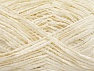 Fiber Content 100% Polyester, Brand ICE, Ecru, fnt2-58170