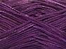 Fiber Content 80% Cotton, 20% Viscose, Purple, Brand ICE, fnt2-58178