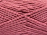 Fiber Content 72% Premium Acrylic, 3% Metallic Lurex, 25% Wool, Rose Pink, Brand ICE, fnt2-58205