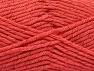 Fiber Content 72% Premium Acrylic, 3% Metallic Lurex, 25% Wool, Salmon, Brand ICE, fnt2-58208