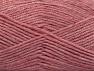 Fiber Content 50% Wool, 50% Acrylic, Pink Melange, Brand ICE, fnt2-58229