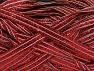 Fiber Content 90% Metallic Lurex, 10% Polyamide, Red, Brand ICE, fnt2-58242
