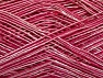 Fiber Content 55% Polyamide, 45% Viscose, Pink Shades, Brand ICE, fnt2-58248