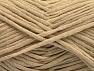 Fiber Content 67% Cotton, 33% Polyamide, Brand ICE, Beige, fnt2-58271