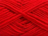 Fiber Content 67% Cotton, 33% Polyamide, Red, Brand ICE, fnt2-58274