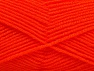 Fiber Content 60% Acrylic, 40% Wool, Neon Orange, Brand ICE, fnt2-58337