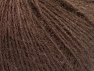 Fiber Content 50% Acrylic, 30% Kid Mohair, 20% Polyamide, Brand ICE, Brown, fnt2-58346