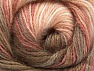 Fiber Content 50% Mohair, 50% Acrylic, White, Salmon Shades, Brand ICE, Brown Shades, fnt2-58358