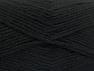 Fiber Content 50% Acrylic, 50% Wool, Brand ICE, Black, fnt2-58366