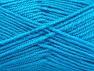 Fiber Content 50% Wool, 50% Acrylic, Turquoise, Brand ICE, fnt2-58375