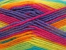 Fiber Content 75% Acrylic, 25% Wool, Rainbow, Brand ICE, Yarn Thickness 3 Light  DK, Light, Worsted, fnt2-58426