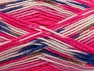Fiber Content 75% Acrylic, 25% Wool, White, Pink, Brand ICE, Brown, Blue, Yarn Thickness 3 Light  DK, Light, Worsted, fnt2-58428